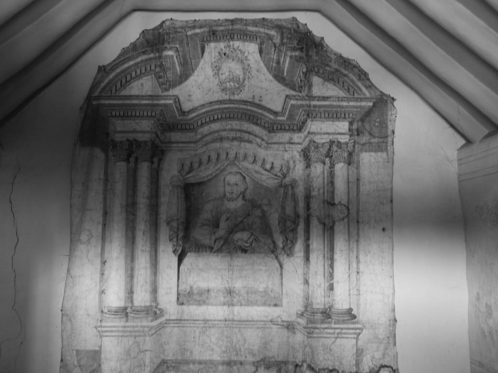 Jesucristo de una de las capillas posas sutatausa