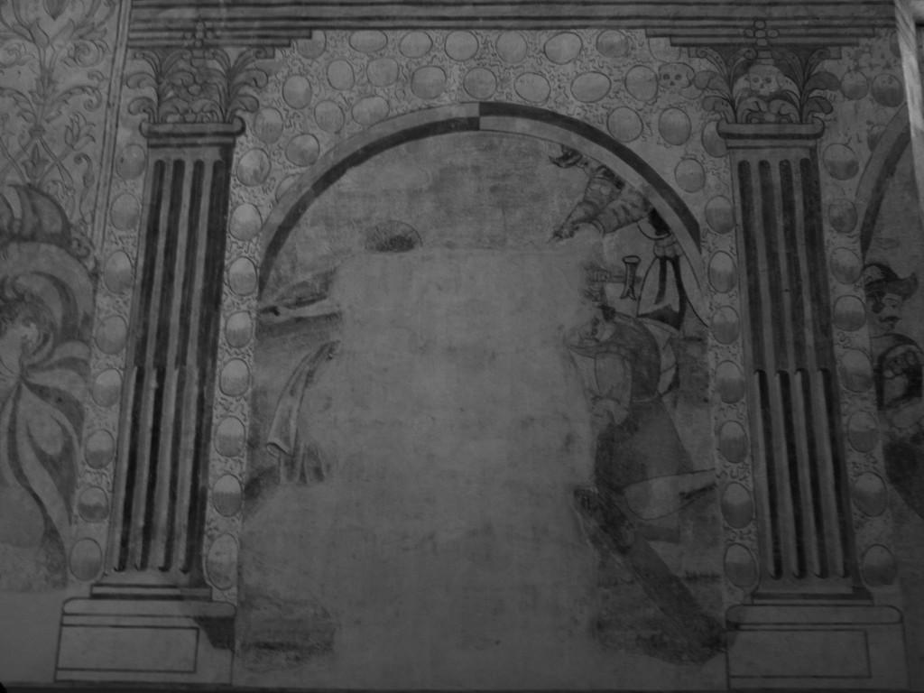 Escena maltrecha de la cruxifión sutatausa