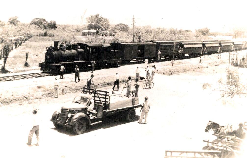 Foto del ferrocarril de en Fundacion sepia