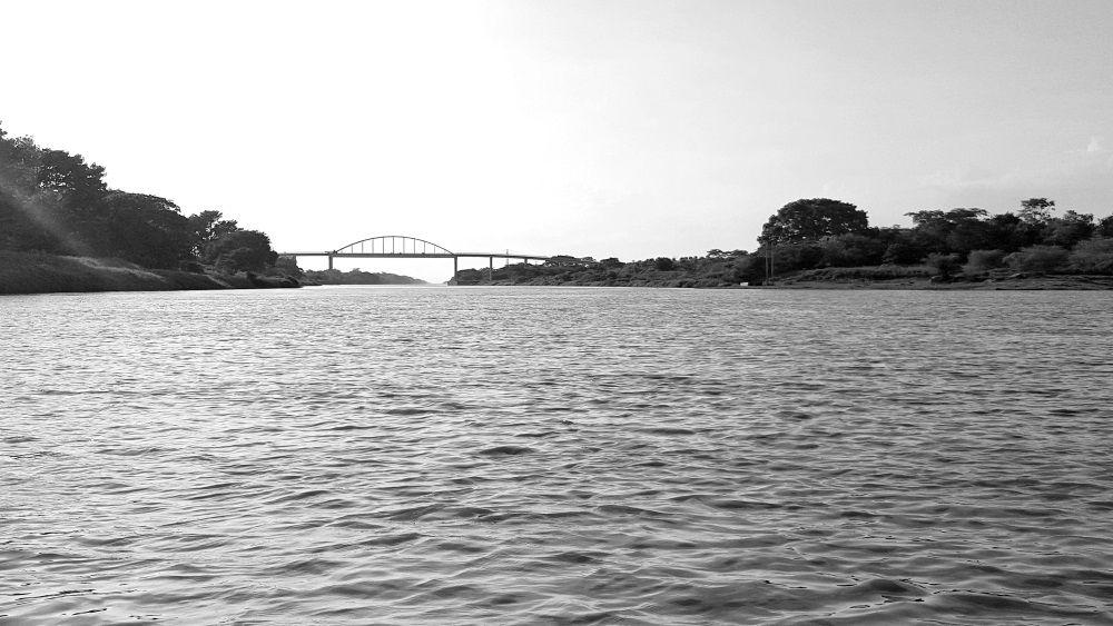 Canal del Dique a la altura de Calamar