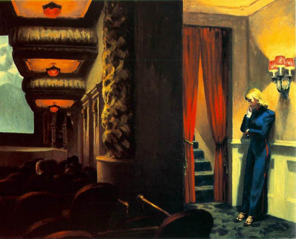 Edward Hopper - Cine en nueva york
