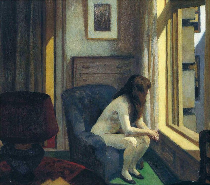Edward Hopper - Once a.m