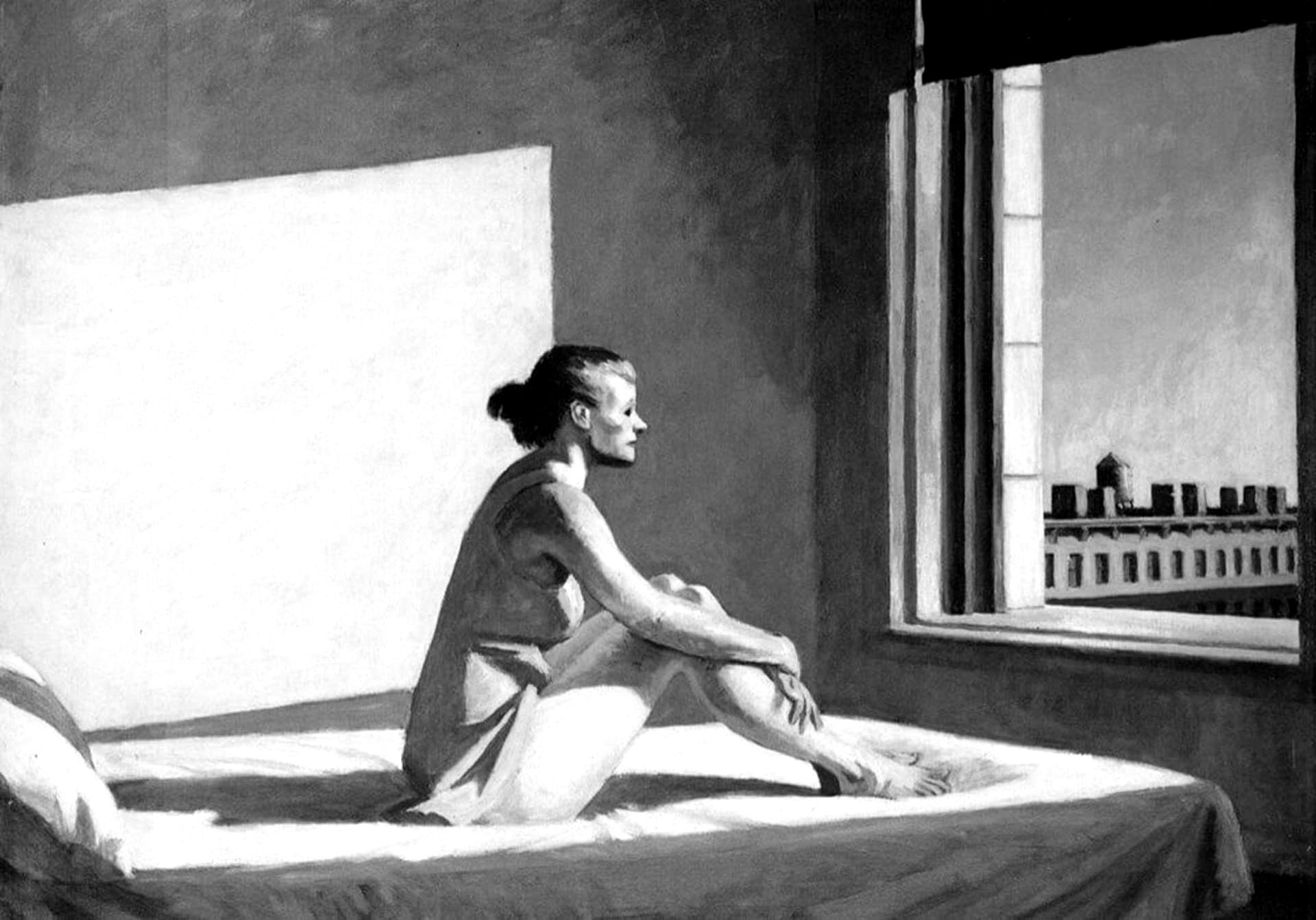 Edward Hopper - Sol de la mañana - copia