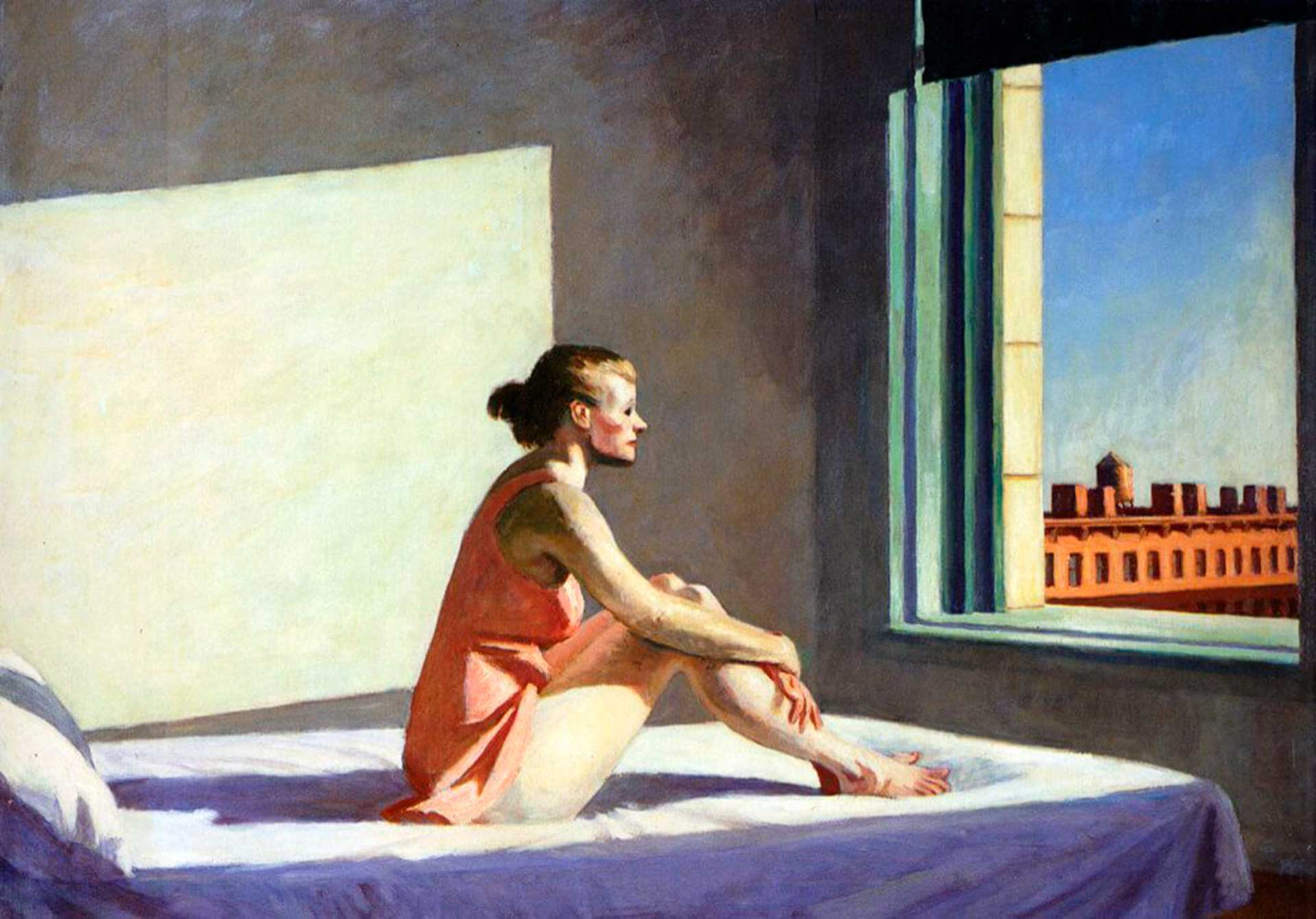 Edward Hopper - Sol de la mañana