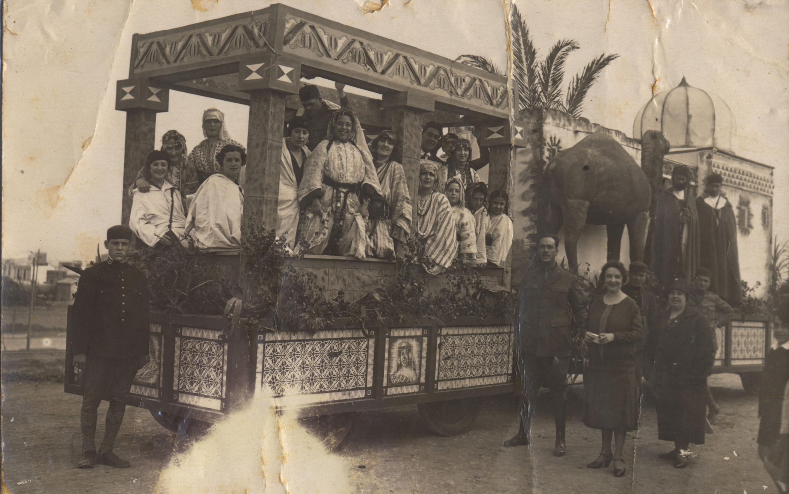 Carroza Carnaval de Canarias 1928
