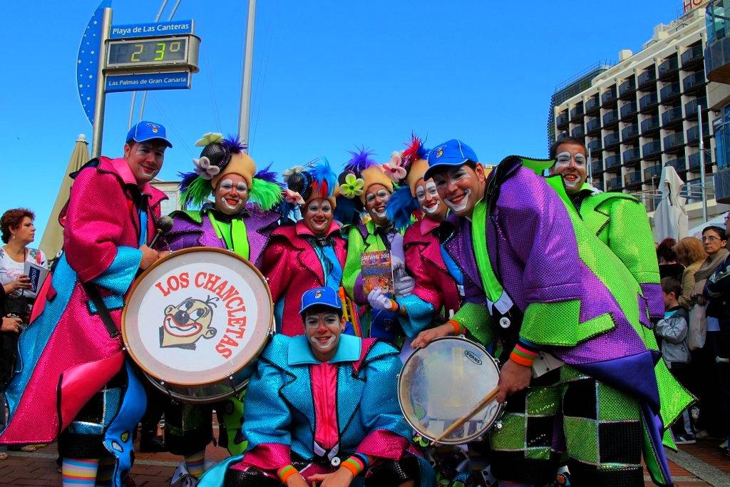 Carnaval de Canarias - Murga Chancletas
